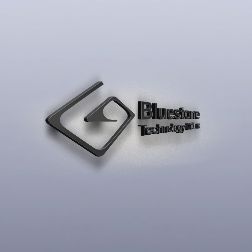 Bluestone Technology - logo Mockup