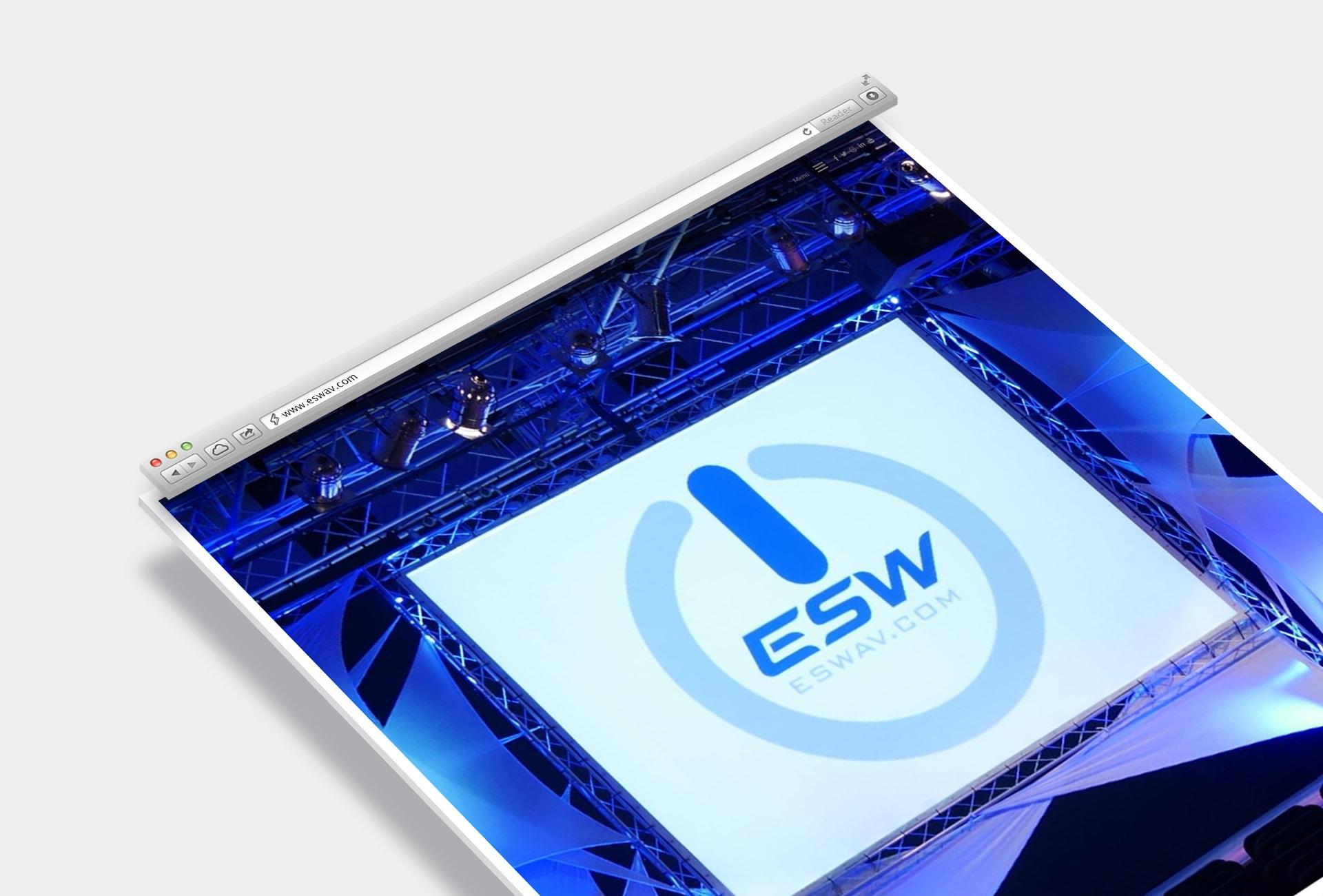 ESW Solutions - Safari Mockup