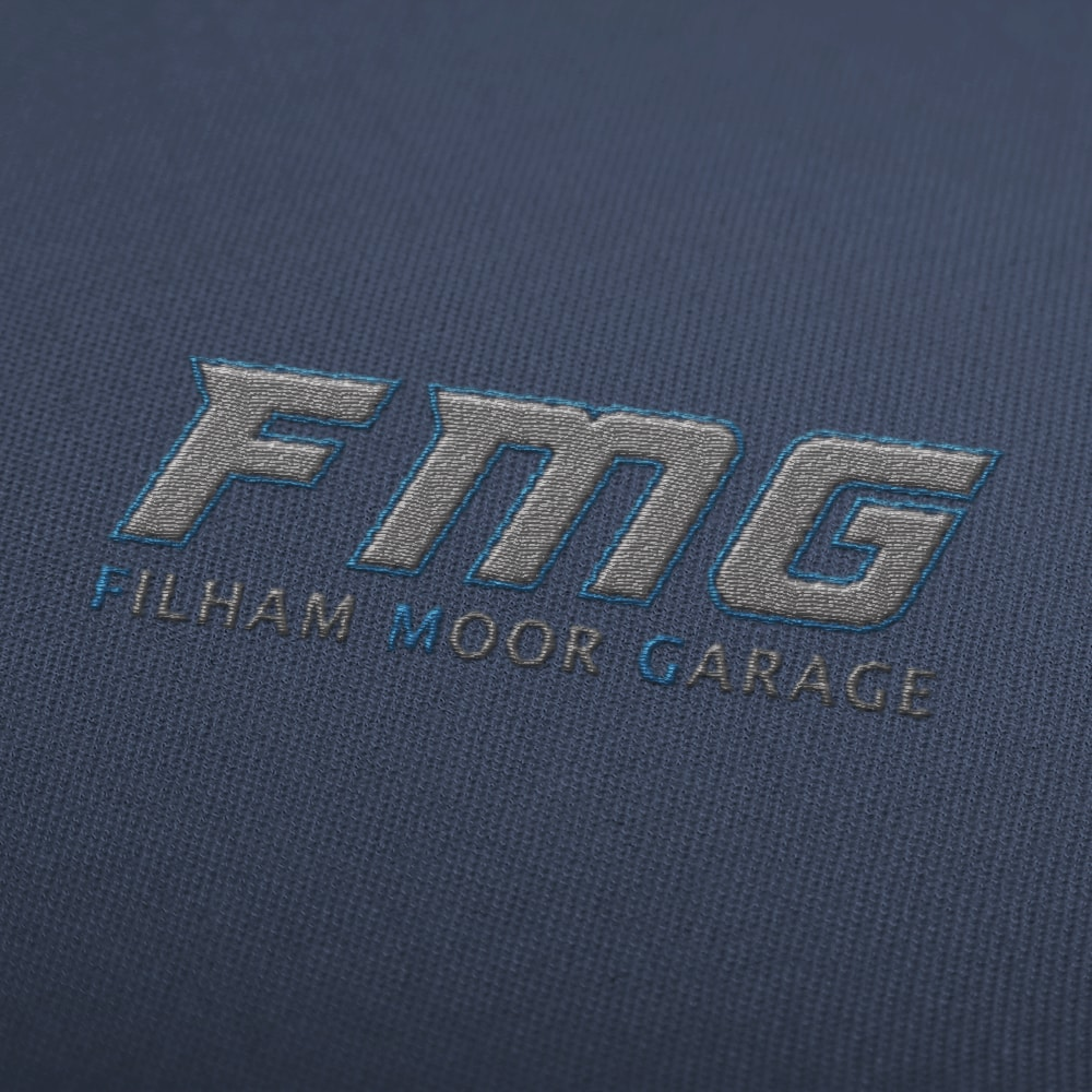 Filham Moor Garage - Embroidery Mockup