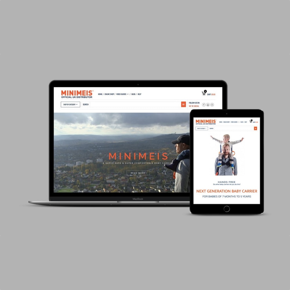 MiniMeis UK - Device Mockup